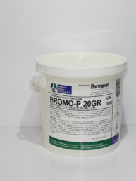 BROMO-P Pastillas 20gr. Desinfectante de Aguas 5 kg.