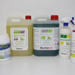 Productos Biológicos, división Biotenológia Barmanet