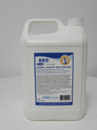 Crema jabón de manos bactericida 5l - KEO