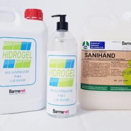 Hidorgel, Gel hidro-alcohólico para manos litro con dispensador - BarmanetShop