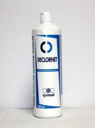 DECLORNET - Limpiador Superficies Clorado. Desinfectante con registro HA 1 litro