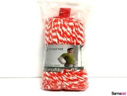 Fregona-Microfibra-65-Roja-y-Blanca