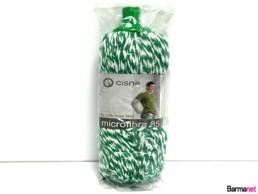 Fregona-Microfibra-85-Verde-y-Blanca