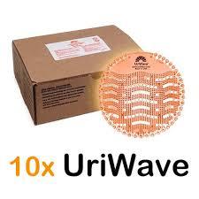 Caja Uriwave Mango pantallas ambientador para urinarios 10 unidades