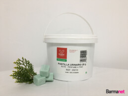 Pastillas Urinarios perfume pino 20 gramos en bote de 2 kilos