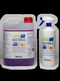 Limpiador Sanitizante Desodorizante con amonio-cuaternario Bacter-Q 1 litro con pulverizador